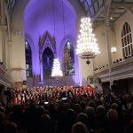 Joulukonsertti Musiikkiluokkien kanssa Mikkelin Tuomiokirkossa
