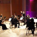 Muistoja rakkailta seuduilta -konsertin harjoitus Raiskinin johdolla